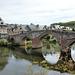Bridge of pilgrims, of St Jacques de Compostelle