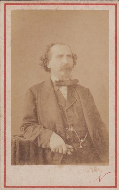 Emilio Naudin by Nadar