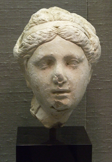 Female Head- Possibly a Queen or a Goddess in the Princeton University Art Museum, July 2011