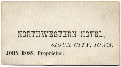 Northwestern Hotel, Sioux City, Iowa