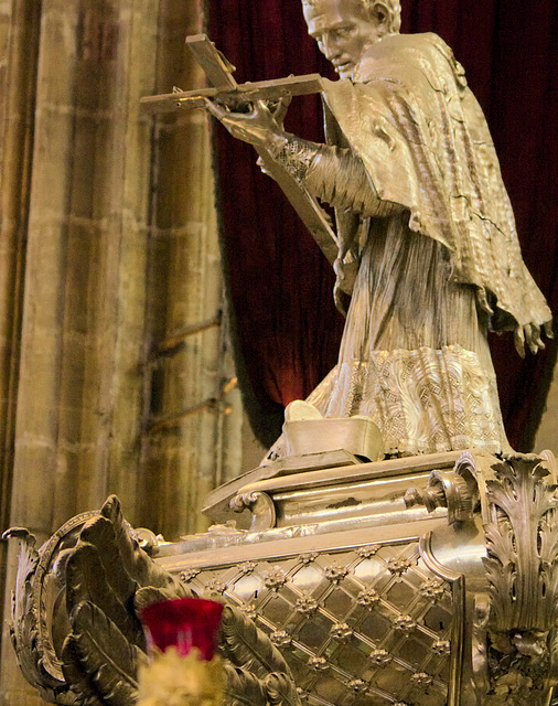 Silver Work in St Vitus Cathedral, Prague