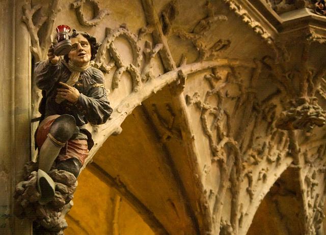 Sculpture in St Vitus Cathedral, Prague