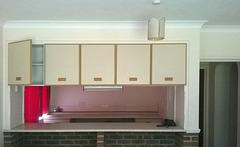 Bare cupboard