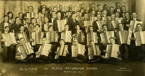 The Olzen Accordion School, Brooklyn, N.Y.
