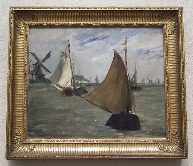 View in Holland by Manet in the Philadelphia Museum of Art, August 2009
