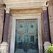 Original Bronze Door from the Temple of Divine Romulus in the Forum Romanum, July 2012