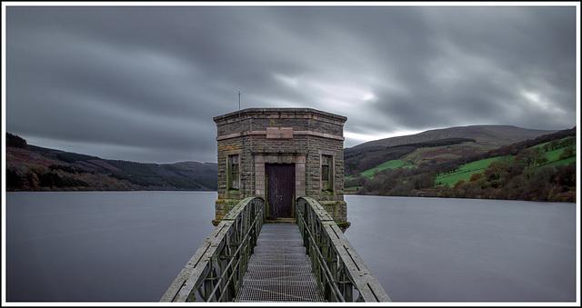 Long exposure, Talybont Reservoir Pumphouse