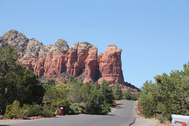 Sedona, Coffee Pot Rock