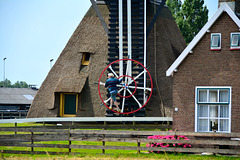 Turning the windmill into the wind