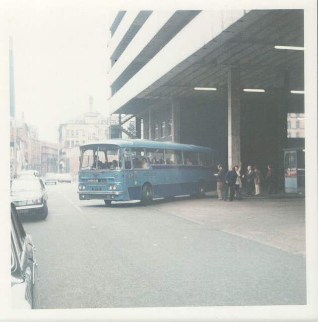 240/02 Premier Travel Services BVO 3C in Manchester - August 1974