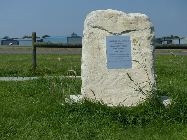 Henstridge Airfield Marker - 23 July 2014