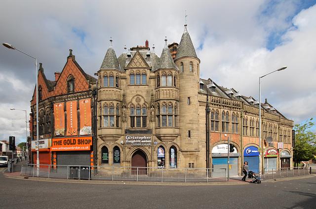 Bank Buildings,  Charing Cross, Birkenhead, Wirral