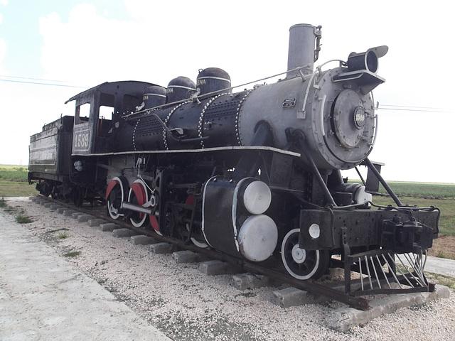 Train à la retraite / Retired train.