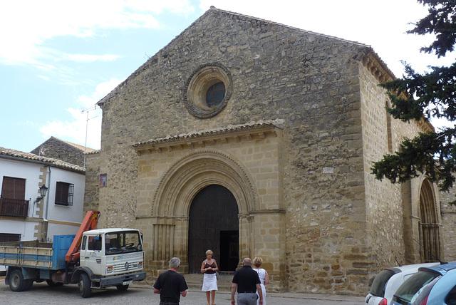 Baeza, iglesia de estilo románico.