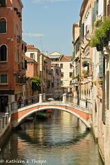 Venice - Venetian bridge -  060114-020