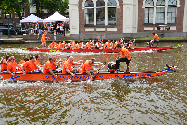 Dragon-boat racing