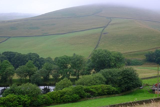 Mossy Lea Farm Views of Cloudy Bleaklow