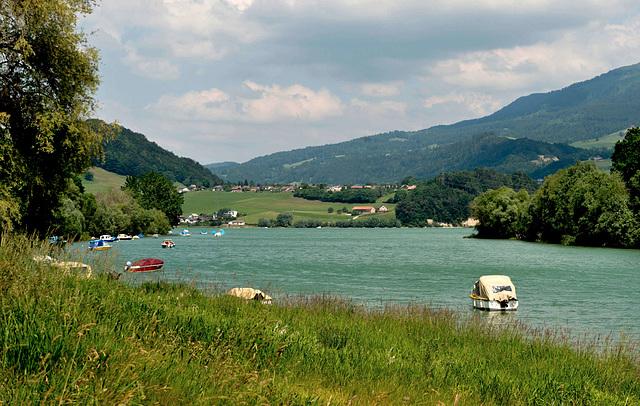 Le lac de la Gruyère