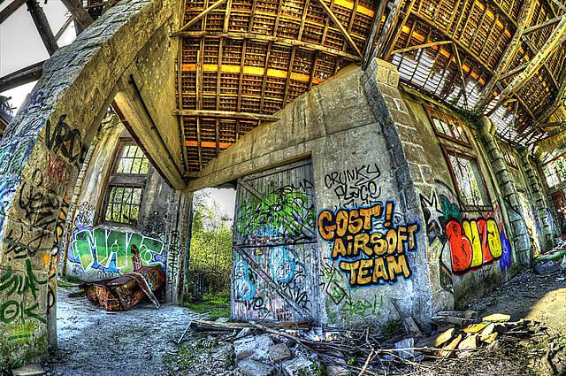 UrbEx, hangar abandonné