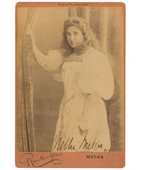 Nellie Melba by Reutlinger