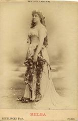Nellie Melba by Reutlinger