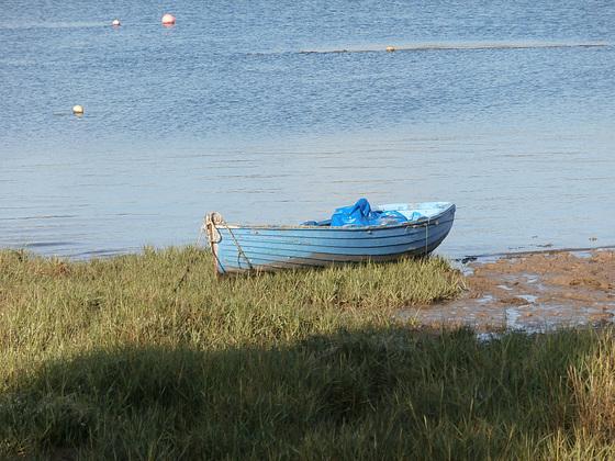 Little rowing boat