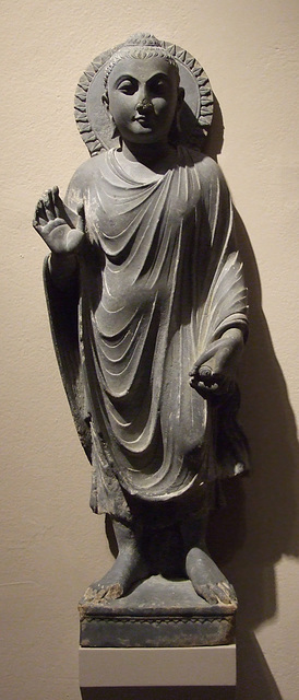 Standing Buddha in the Philadelphia Museum of Art, January 2012