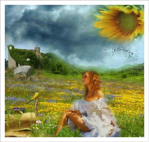 la paix intérieure, rester en amour avec le monde