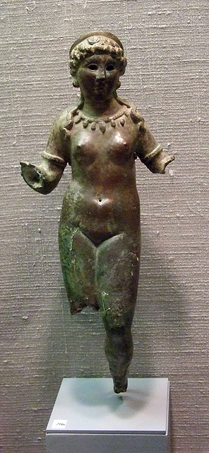 Statuette of Isis-Aphrodite in the Princeton University Art Museum, July 2011
