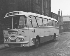 Yelloway (North Manchester Motor Coaches) YDK 587 in Rochdale - 19 Sep 1970