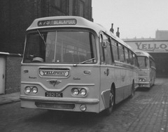 Yelloway 2921 DK in Rochdale - 19 Sep 1970