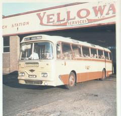 Yelloway 4643 DK 16 Jul 1972