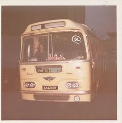 Yelloway 4643 DK Jan 1973