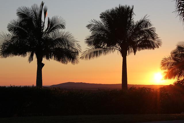 6.55 am Noosa Hill Sunrise