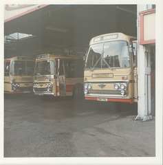 Yelloway CDK 176L, HDK 507E and TDK 690J - August 1973