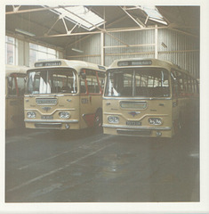 Yelloway CDK 854C and 7073 DK Aug 1973 (1)
