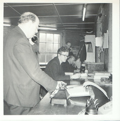 Yelloway Chart Room - January 1972