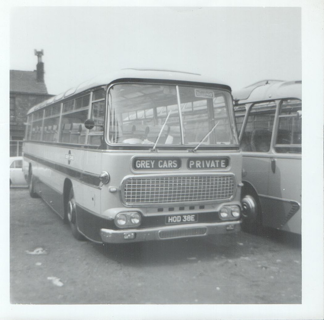 Grey Cars HOD 38E Summer 1969