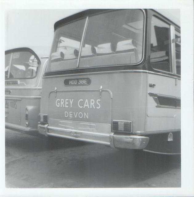 Grey Cars HOD 38E Summer 1969