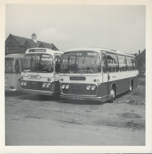 Orange Luxury JRK 622K and Birch BUL 61H - July 1972