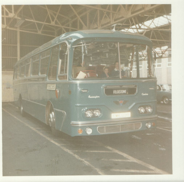 222 Premier Travel Services FMK 129B in Rochdale - August 1972