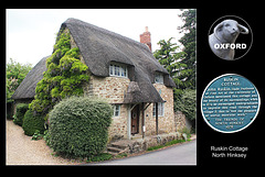 Ruskin Cottage - North Hinksey - Oxford - 24.6.2013