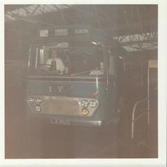 196/02 Premier Travel Services LJE 992G in Rochdale -December 1971