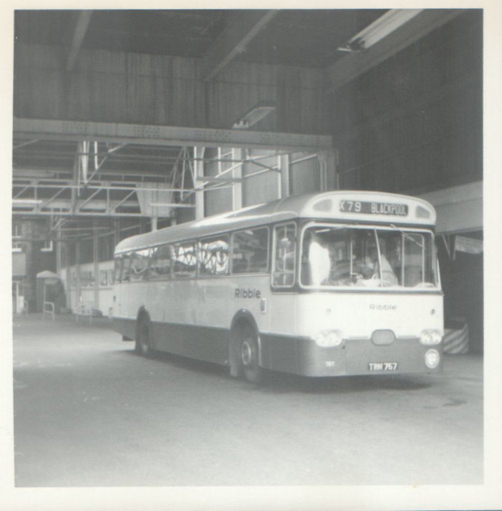 Ribble 767 (TRN 767) - 8 May 1972