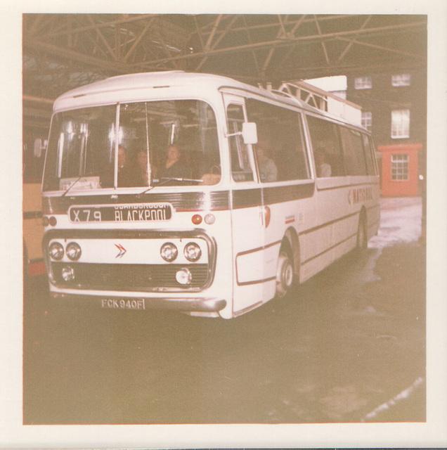 Standerwick 940S (FCK 940F) in Rochdale - Feb 1973