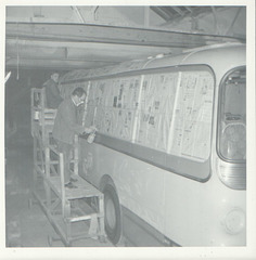 Yelloway Paint Shop - Nov 1971