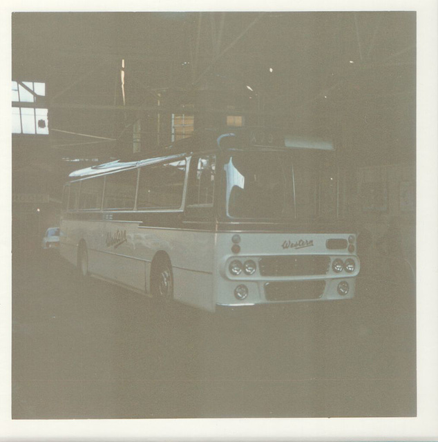 Western SMT coach in Rochdale - July 1973