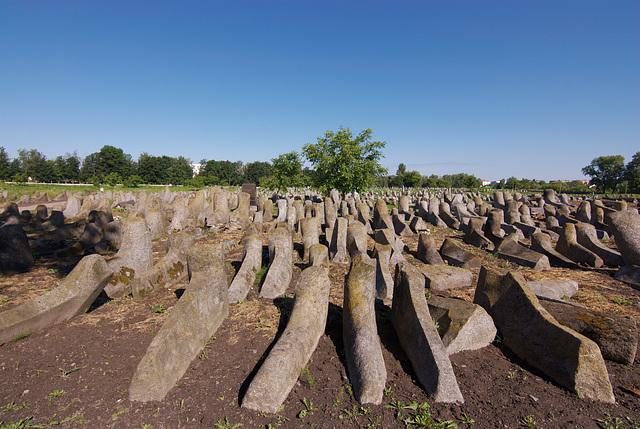 Der alte judische Friedhof in Berdytschiw
