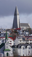 Church and Cathedral in Reykjavik