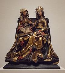 St. Anne Teaching the Virgin to Read in the Philadelphia Museum of Art, January 2012